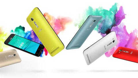 ASUS ZenFone Go phiên bản mới có rất nhiều các màu cá tính và trẻ trung