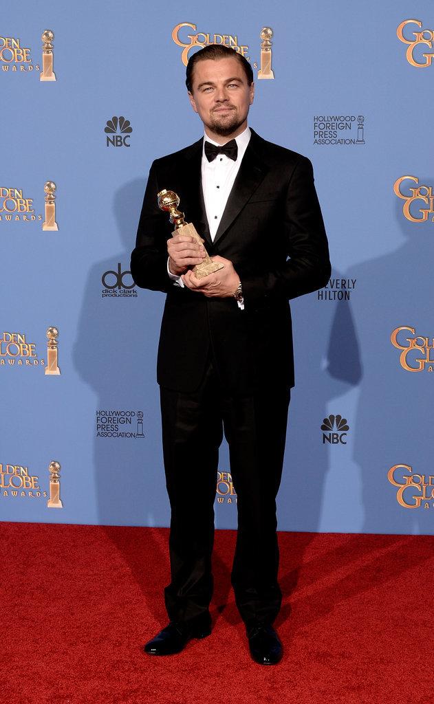 Nam diễn viên là gương mặt quen thuộc của Quả cầu vàng trong nhiều năm. Bức ảnh này được ghi lại ở sự kiện năm 2014.