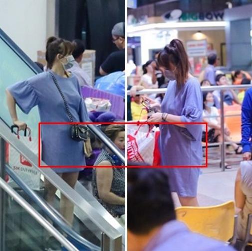 Hình ảnh khiến khán giả nghi ngờ Hari Won mang bầu