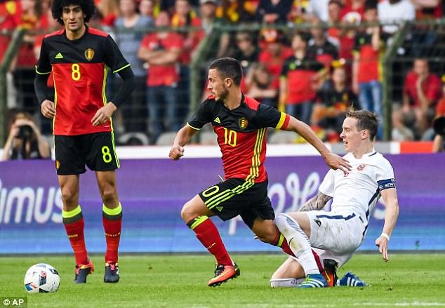 Eden Hazard đang tìm lại phong độ cao nhất trong màu áo ĐTQG