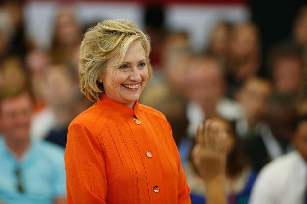 Ứng viên Tổng thống Mỹ Hillary Clinton