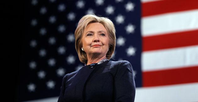 Bà Hillary Clinton đang đứng trước cơ hội lớn để trở thành nữ Tổng thống Mỹ đầu tiên trong lịch sử (Matt Rourke/AP)