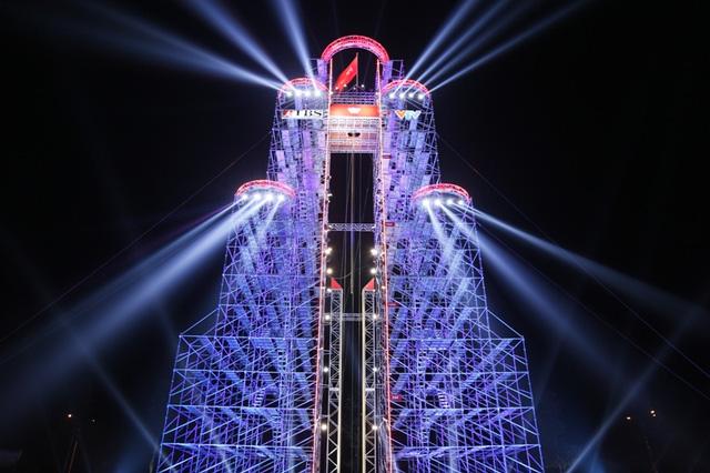 Tháp Midoriyama luôn chờ đón các chiến binh chinh phục dù là đội Việt Nam hay đội tuyển ngoại quốc