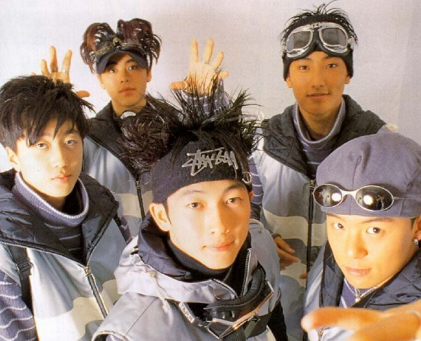 Hình ảnh nhóm nhạc H.O.T từng khuynh đảo làng giải trí Hàn Quốc những năm 90