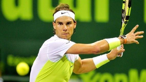 Nadal cũng có mặt ở vòng bán kết Qutar Open