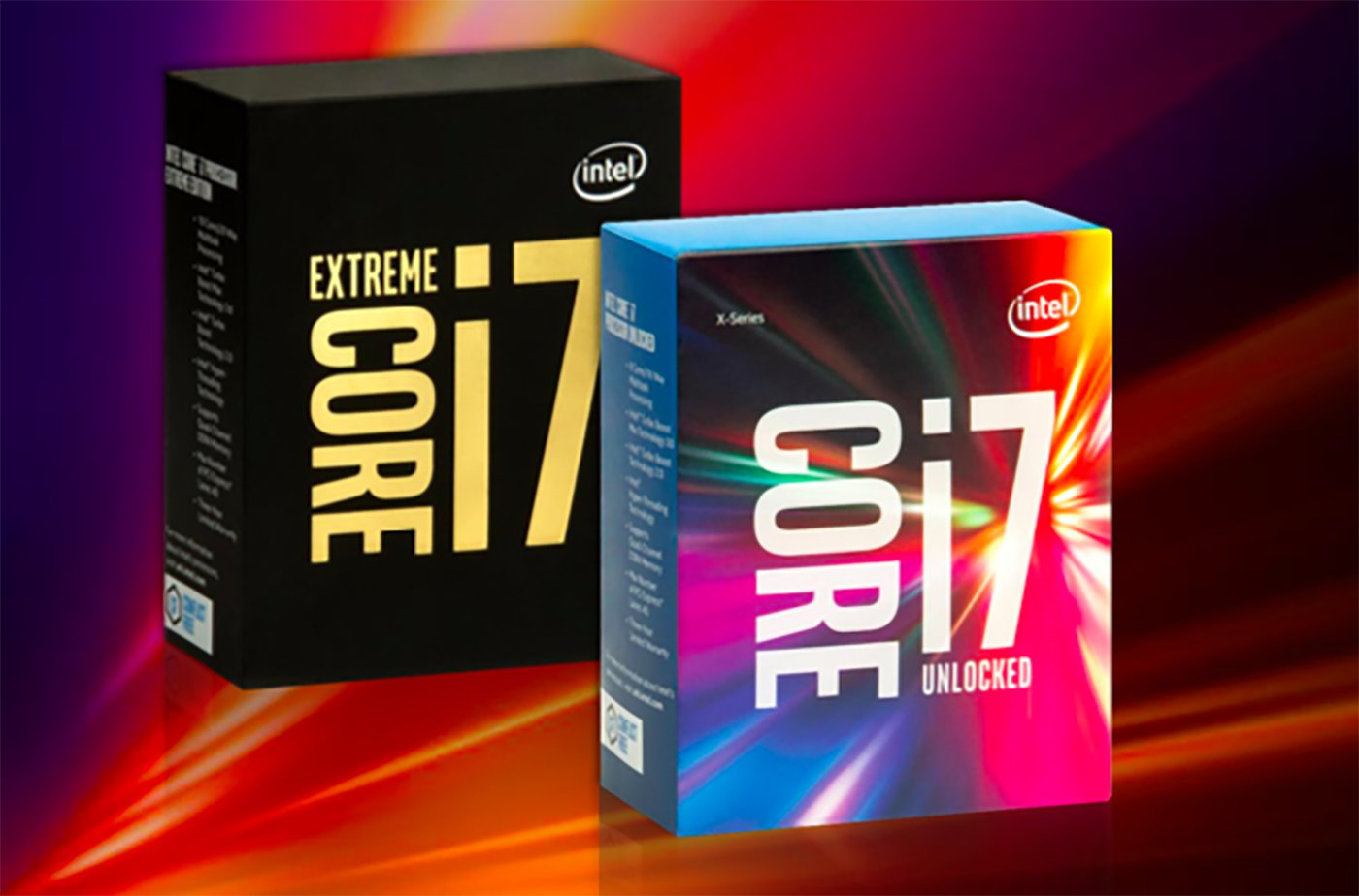 Dòng Core i7 Extreme Edition mới ra mắt của Intel bao gồm: 1 chip 10 lõi, 1 chip 8 lõi và 2 chip 6 lõi