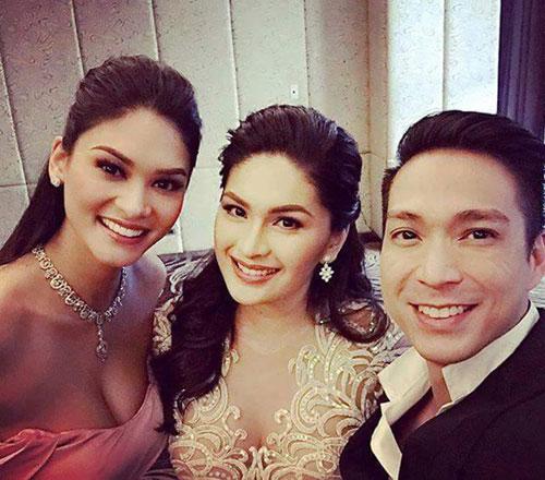 Tân Hoa hậu Hoàn vũ vô cùng quyến rũ khi chụp ảnh trong đám cưới của bạn.