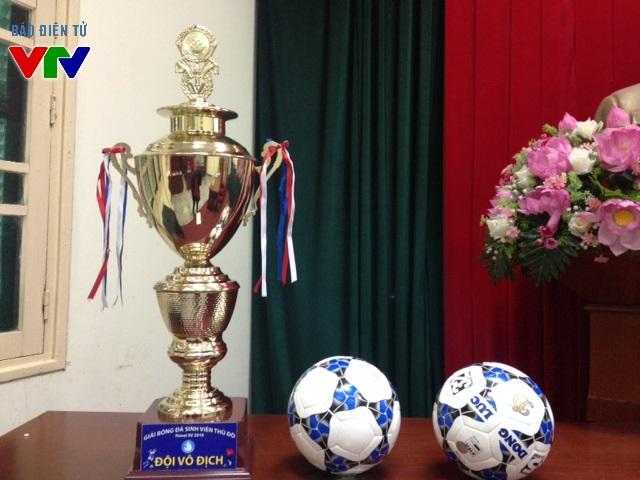 Chiếc Cup vô địch sẽ trao cho đội giành chiến thắng trong giải HANOI SV CUP 2016