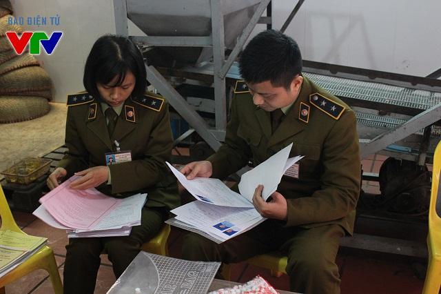 Các hộ sản xuất phải xuất trình đủ giấy tờ và hóa đơn chứng minh rõ nguồn gốc nguyên liệu