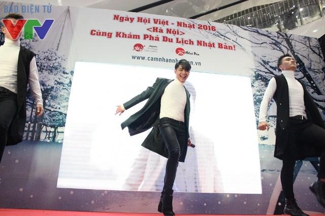 Noo Phước Thịnh xuất hiện tại sự kiện với vai trò Đại sứ Du lịch Nhật Bản