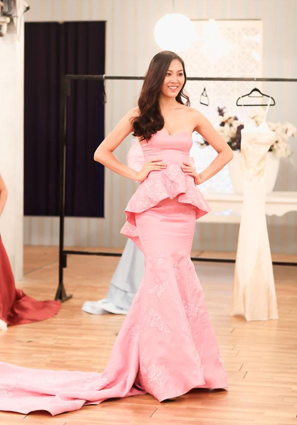 Các thiết kế của Audrey Hiếu Nguyễn đều được các người đẹp vô cùng yêu thích