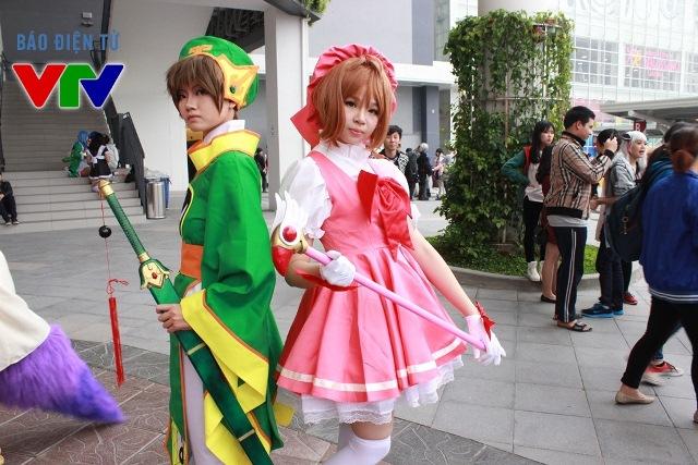 Hai nhận vật chính trong bộ truyện Sakura