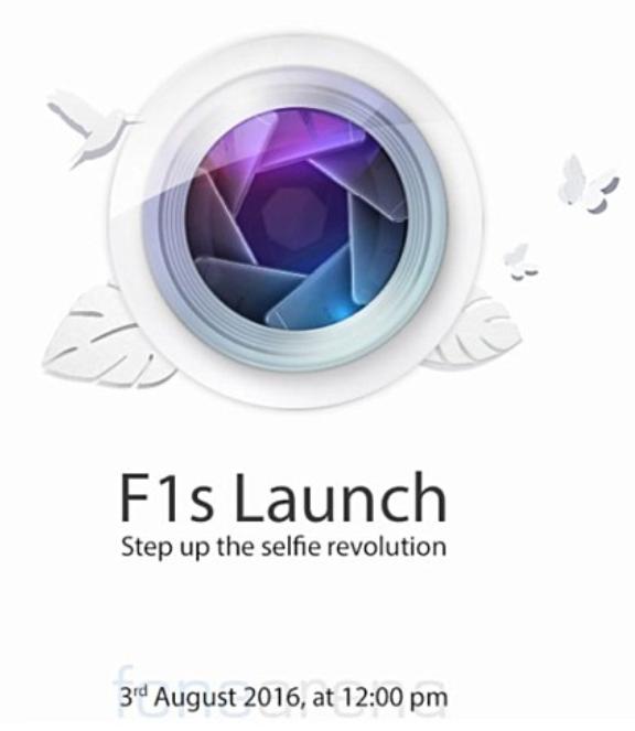 Thư mời tham dự sự kiện ra mắt Oppo F1s