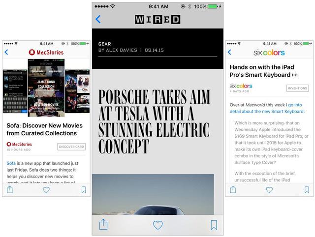 Ứng dụng News hiển thị nhiều tin tức phù hợp với sở thích của người dùng hơn