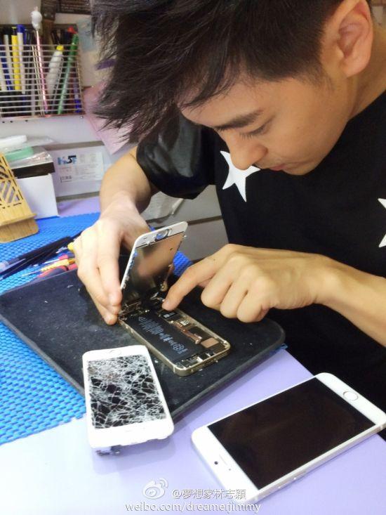 """Lâm Chí Dĩnh tiếp tục """"vô tình"""" làm lộ ảnh iPhone mới - Ảnh 3."""
