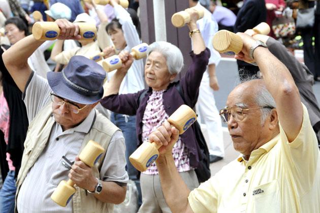 Châu Á đang đứng đầu thế giới về tốc độ già hóa dân số. (Ảnh: Getty Images)