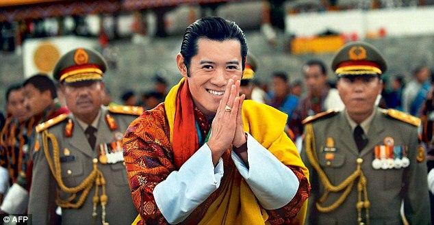 Quốc vương Jigme Khesar Namgyel Wangchuck. (Ảnh: AFP)