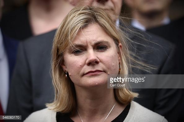 Bộ trưởng Bộ Phát triển Quốc tế Justine Greening.