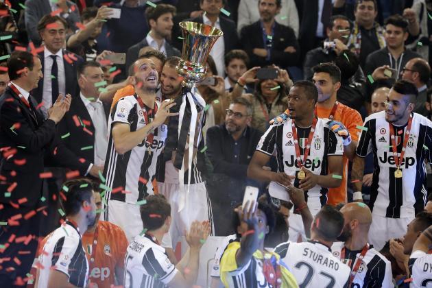 Juventus cũng cần tới 2 hiệp phụ để hạ AC Milan với tỉ số 1-0 giành Coppa Italia.