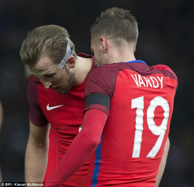 Kane và Vardy đã trở thành những trụ cột ở ĐT Anh.