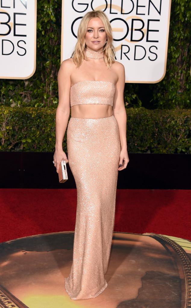 Kate Hudson khoe vẻ đẹp gợi cảm và nổi bật với thiết kế của Michael Kors.