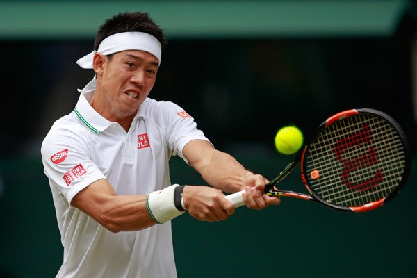 Kei Nishikori đã không thể tiếp tục chinh phục Wimbledon năm nay do chấn thương