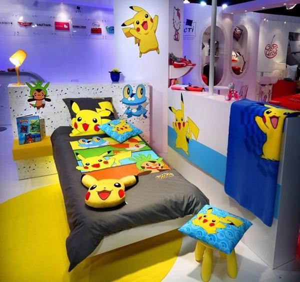 Các tín đồ của Pokémon sẽ thấy chết mê với một căn phòng tràn ngập Pokémon như thế này chứ?