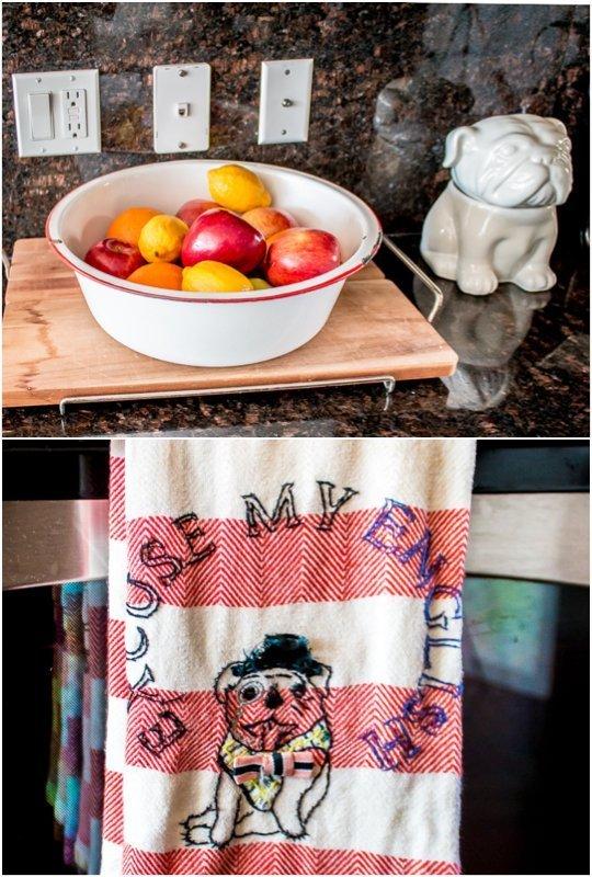 Những vật dụng và đồ trang trí tạo cảm hứng cho chủ nhân gần gũi hơn với công việc bếp núc.