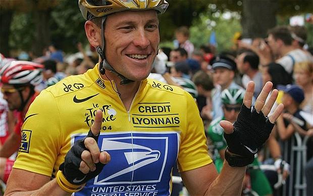 Lance Armstrong đã tiêu tan sự nghiệp vì sử dụng doping