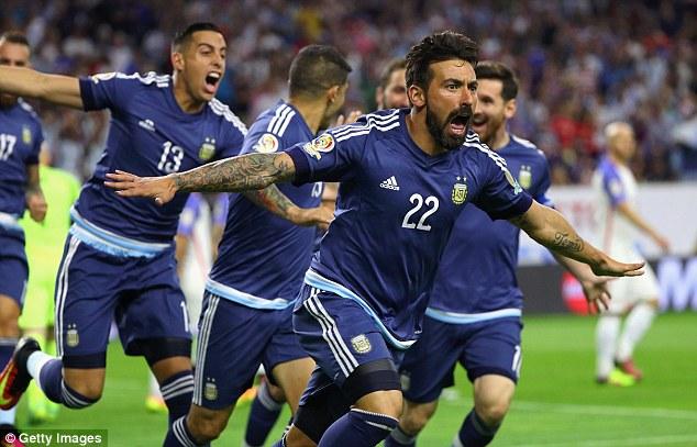 Bàn thắng mở tỉ số của Lavezzi mở ra thắng lợi cho Argentina để qua đó giành vé vào CK Copa America 2016.