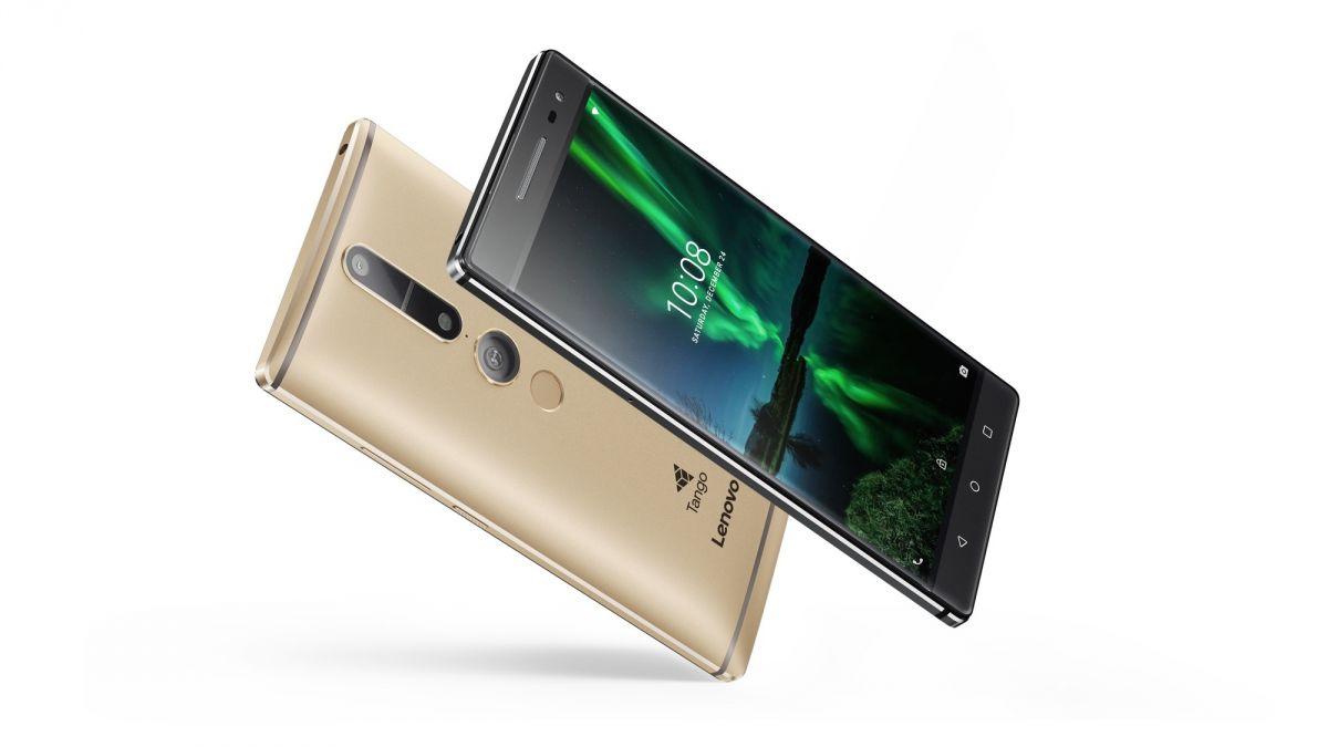 Thiết kế của Lenovo Phab 2 Pro