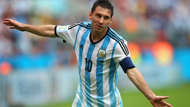 Messi và các đồng đội đang thi đấu thăng hoa tại Copa America 2016