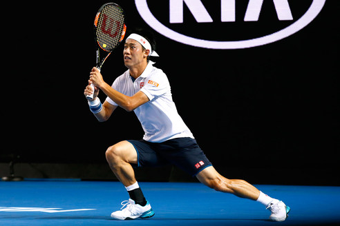 Nishikori không thể làm nên bất ngờ trước Djokovic