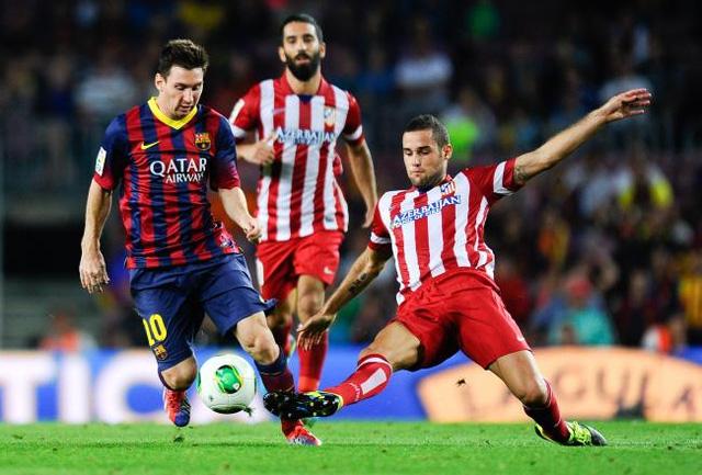 Khá bất ngờ nhưng Atletico lại là đối thủ ưa thích nhất của Messi.