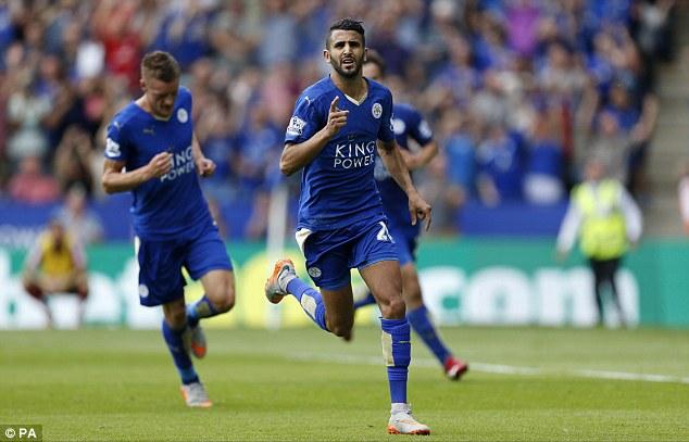 Mahrez đang thăng hoa cùng Leicester.