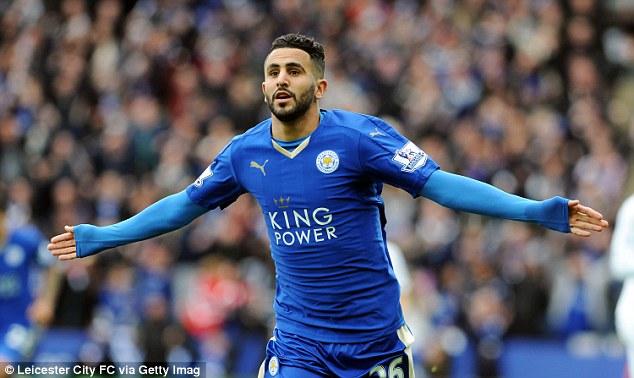 Mahrez sẽ ở lại Leicester?. Ảnh: Getty