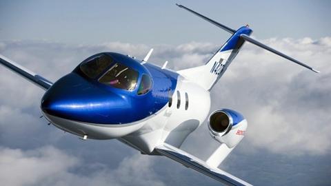 Hình ảnh chiếc máy bay HondaJet.