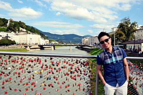 MC Lê Anh ở quê hương của Mozart - thành phố Salzburg, Áo