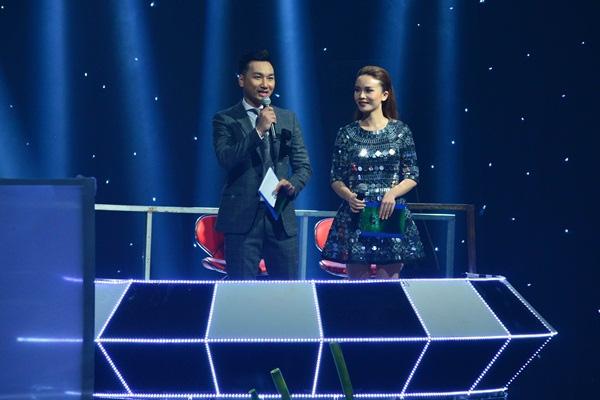 Thành Trung và Yến Trang trong chương trình The Remix