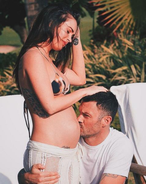 Brian Austin Green được cho là tác giả của bào thai Megan Fox đang mang.