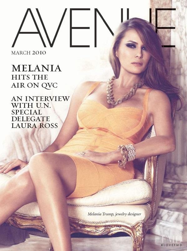 Trước khi trở thành vợ thứ 3 của tỷ phú Donald Trump, Melania Knauss là một siêu mẫu.