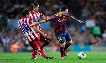 Barca mơi chỉ thắng 1 trong 6 lần đọ sức với Atletico ở Champions League.