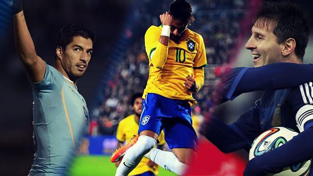 Messi – Suarez – Neymar không thể cùng hội ngộ tại Copa America 2016