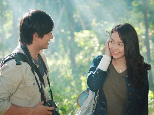 Minh Hằng trong bộ phim Bao giờ có yêu nhau
