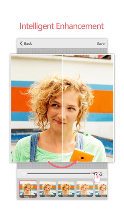 Ứng dụng thu thập một số thông tin và sử dụng thuật toán để cải thiện chất lượng ảnh chụp selfie