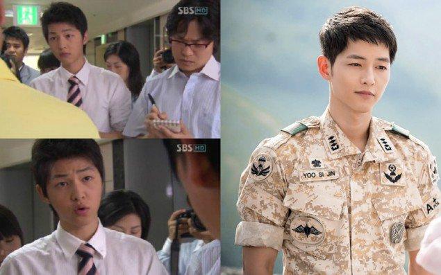 Song Joong Ki từ hồi mới vào nghề cho đến giờ vẫn không có nhiều thay đổi.