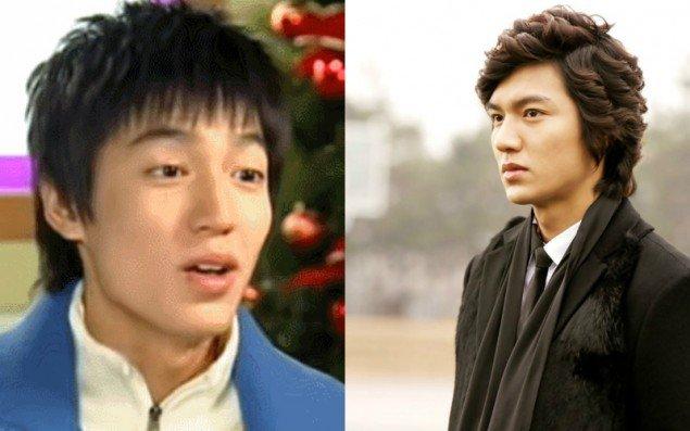 Lee Min Ho so với thời mới chập chững đóng phim thì đẹp trai hơn rất nhiều.