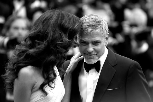 George Clooney và vợ - luật sự người Anh Amal Clooney.