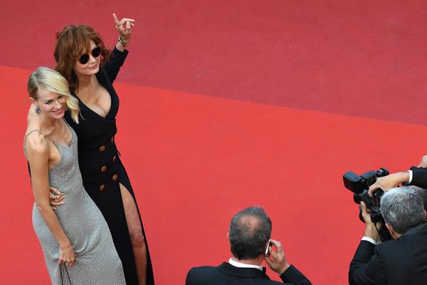 Diễn viên người Anh Susan Sarandon và Naomi Watts - ngôi sao của màn ảnh Úc.