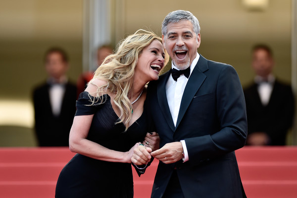 Julia Robert và bạn thân của cô - diễn viên George Clooney.